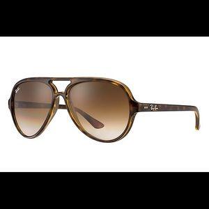 Authentic Ray Ban Cat 5000 Gradient Sunglasses